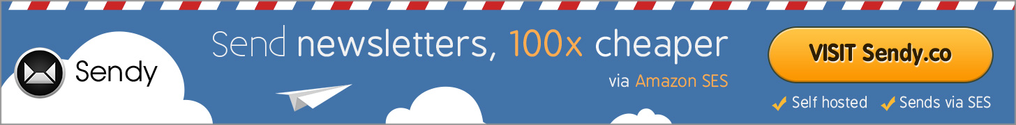 Send Newsletter 1000x Cheaper via Amazon SES