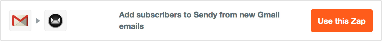 Add subscribers to Sendy from new Gmail emails