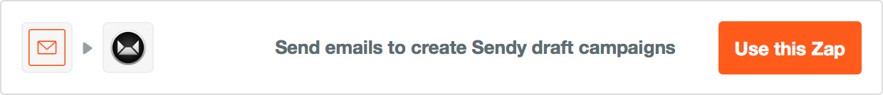 Send emails to create Sendy draft campaigns