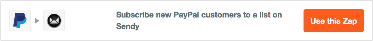 Subscribe new PayPal customers to a list on Sendy